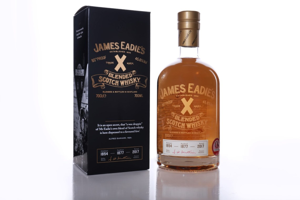 """James Eadie's Trade Mark """"X"""" Blended Scotch Whisky"""