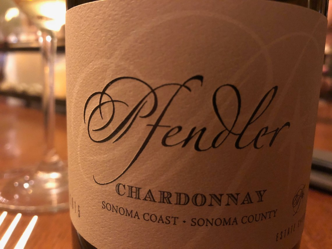 2015 Pfendler Vineyards Chardonnay