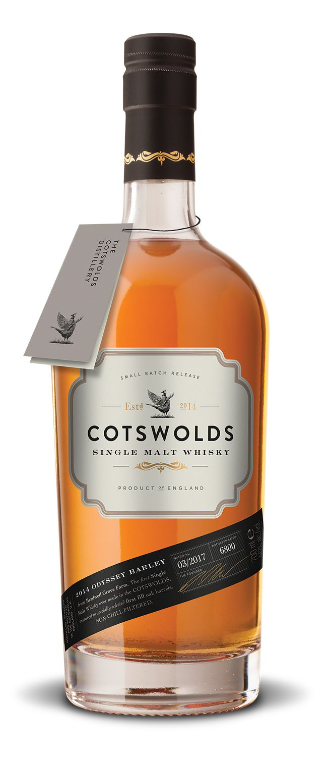 Cotswolds Single Malt Whiskey (2018)