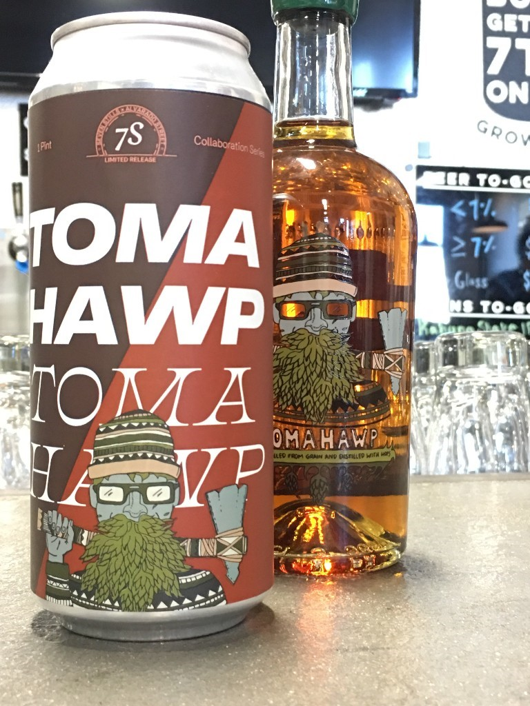 Seven Stills of San Francisco Tomahawp Whiskey