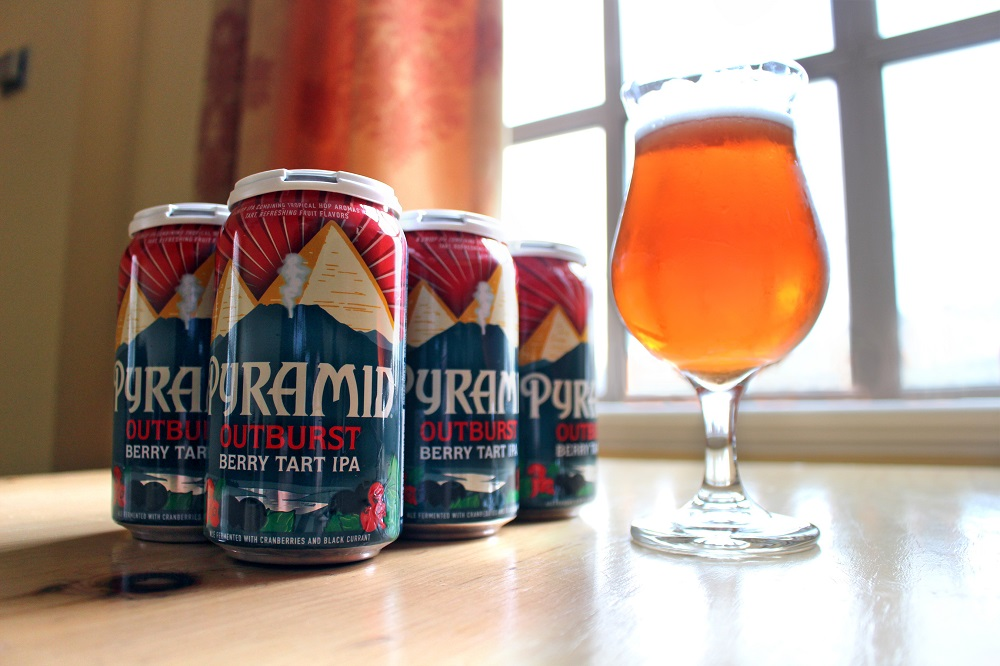 Pyramid Outburst Berry Tart IPA