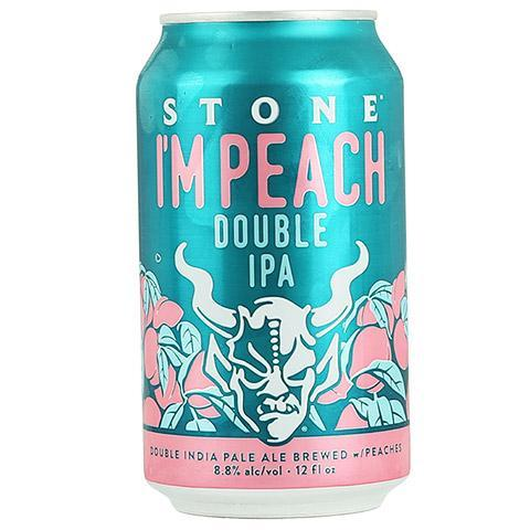 Stone I'm Peach Double IPA