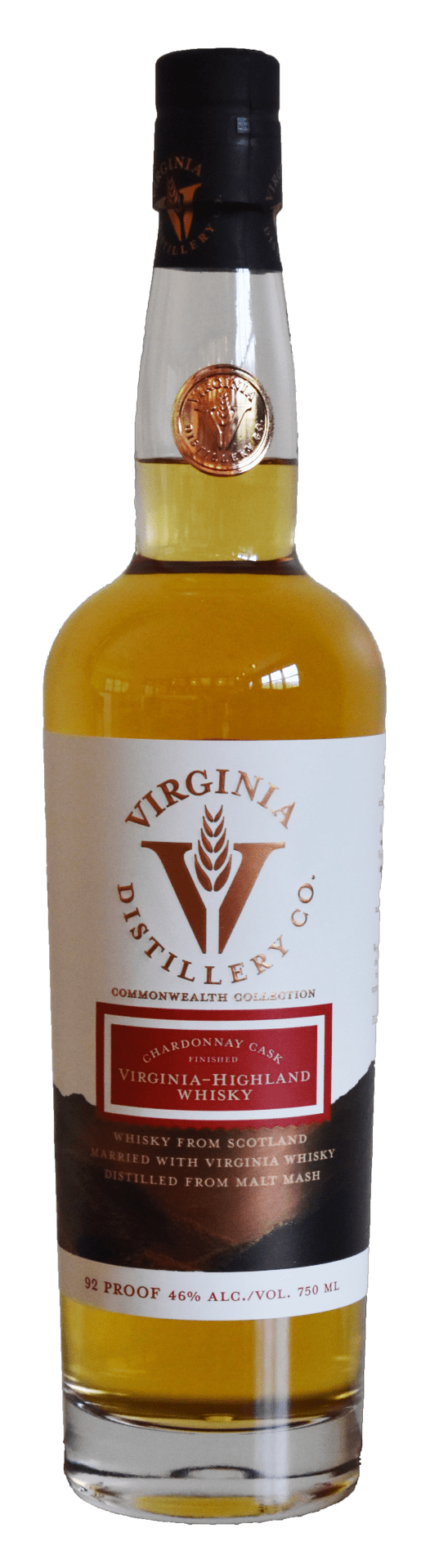 Virginia Distillery Chardonnay Finished Virginia Highland Malt Whisky