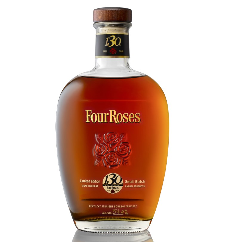 "Four Roses Limited Edition Small Batch Bourbon 2018 Edition ""130th Anniversary"""