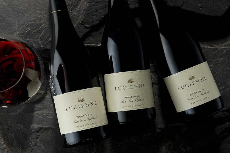 2016 Lucienne Pinot Noir Santa Lucia Highlands Smith Vineyard