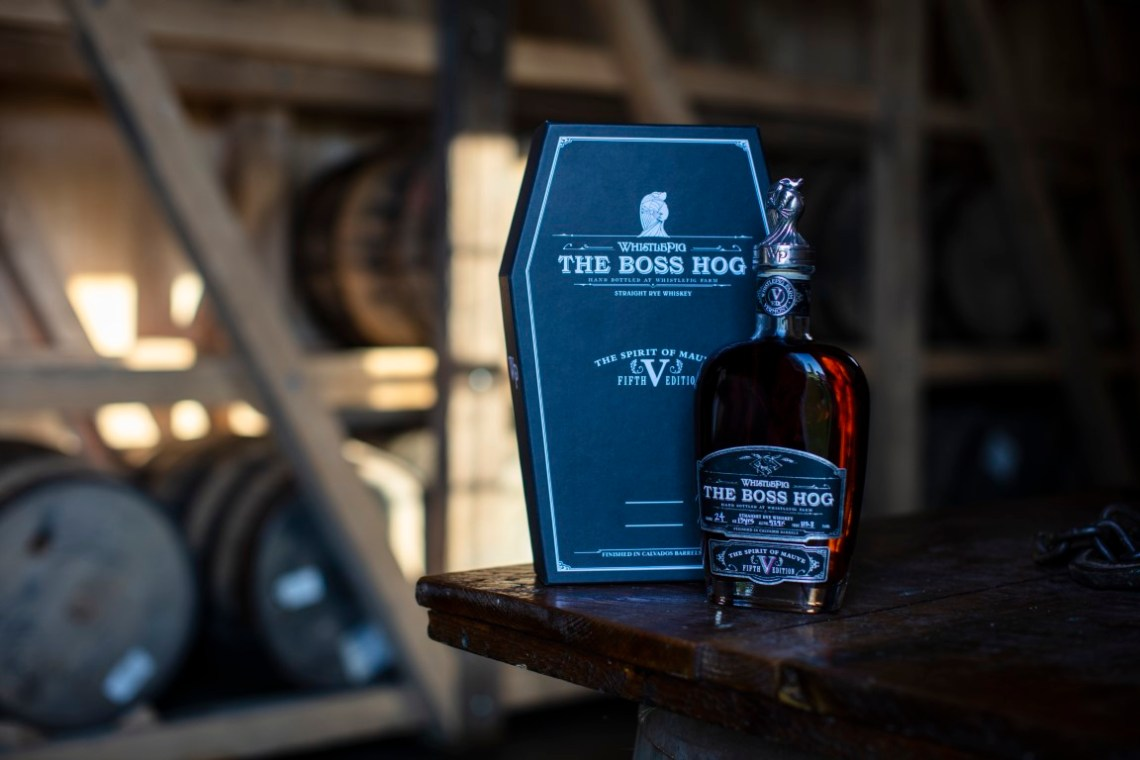 "WhistlePig ""The Boss Hog V: The Spirit of Mauve"" Rye Whiskey 13 Years Old 2018"