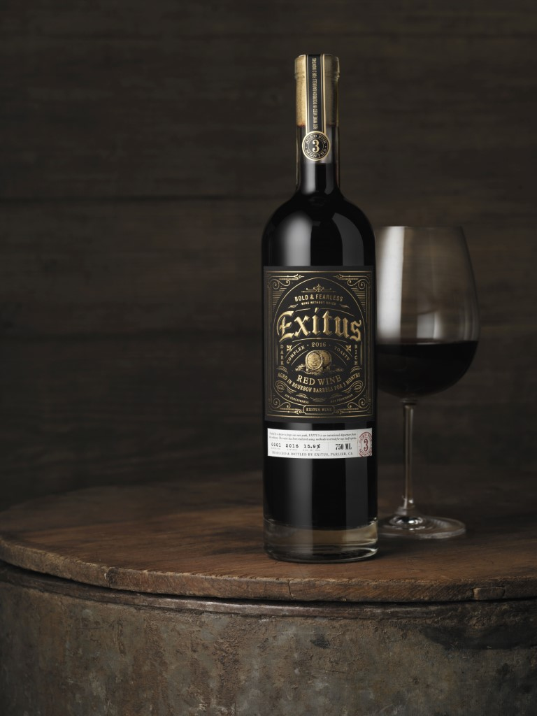 2016 Exitus Red Wine Aged in Bourbon Barrels