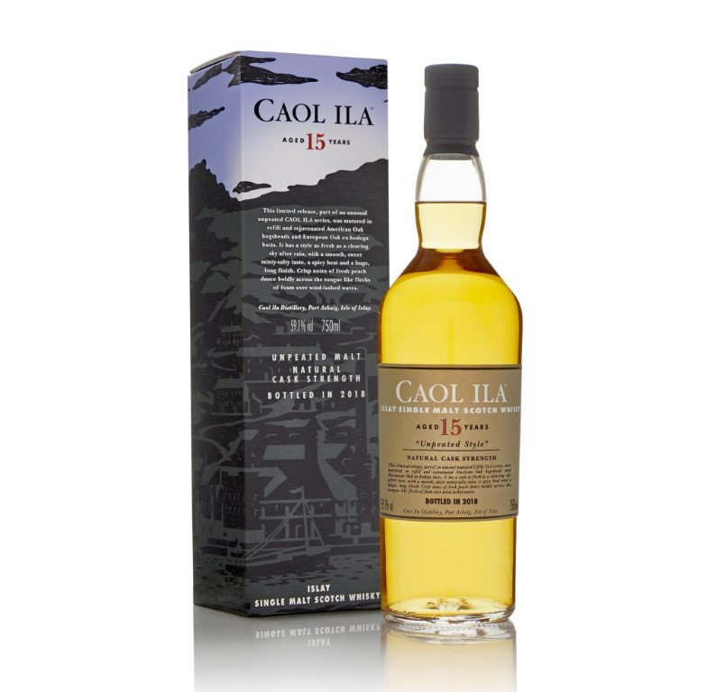 Caol Ila Unpeated 15 Years Old Limited Edition 2018