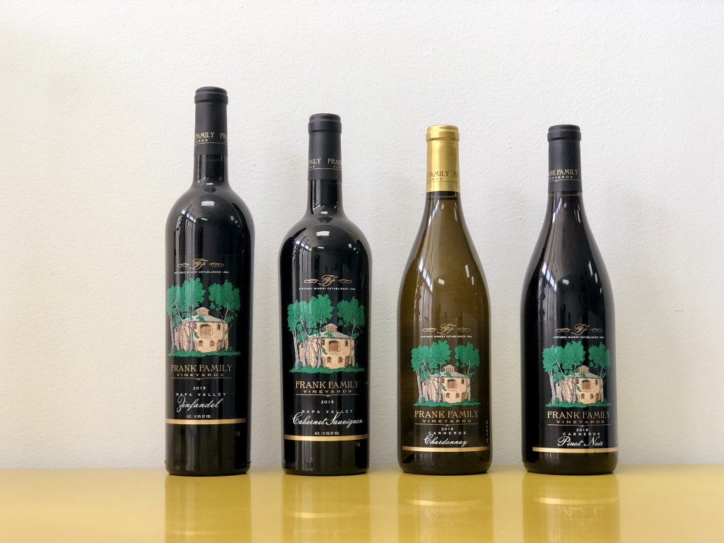 2015 Frank Family Vineyards Cabernet Sauvignon Napa Valley