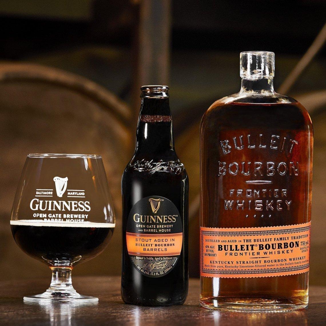 Guinness Stout Aged in Bulleit Bourbon Barrels