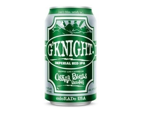 Oskar Blues Brewery G'Knight Imperial Red IPA