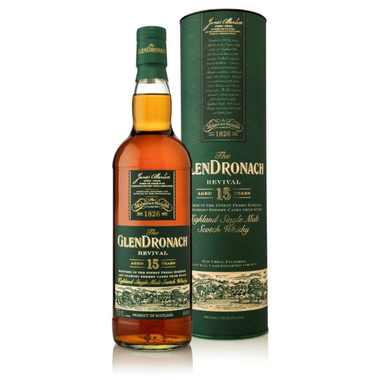 GlenDronach Revival 15 Years Old (2019)