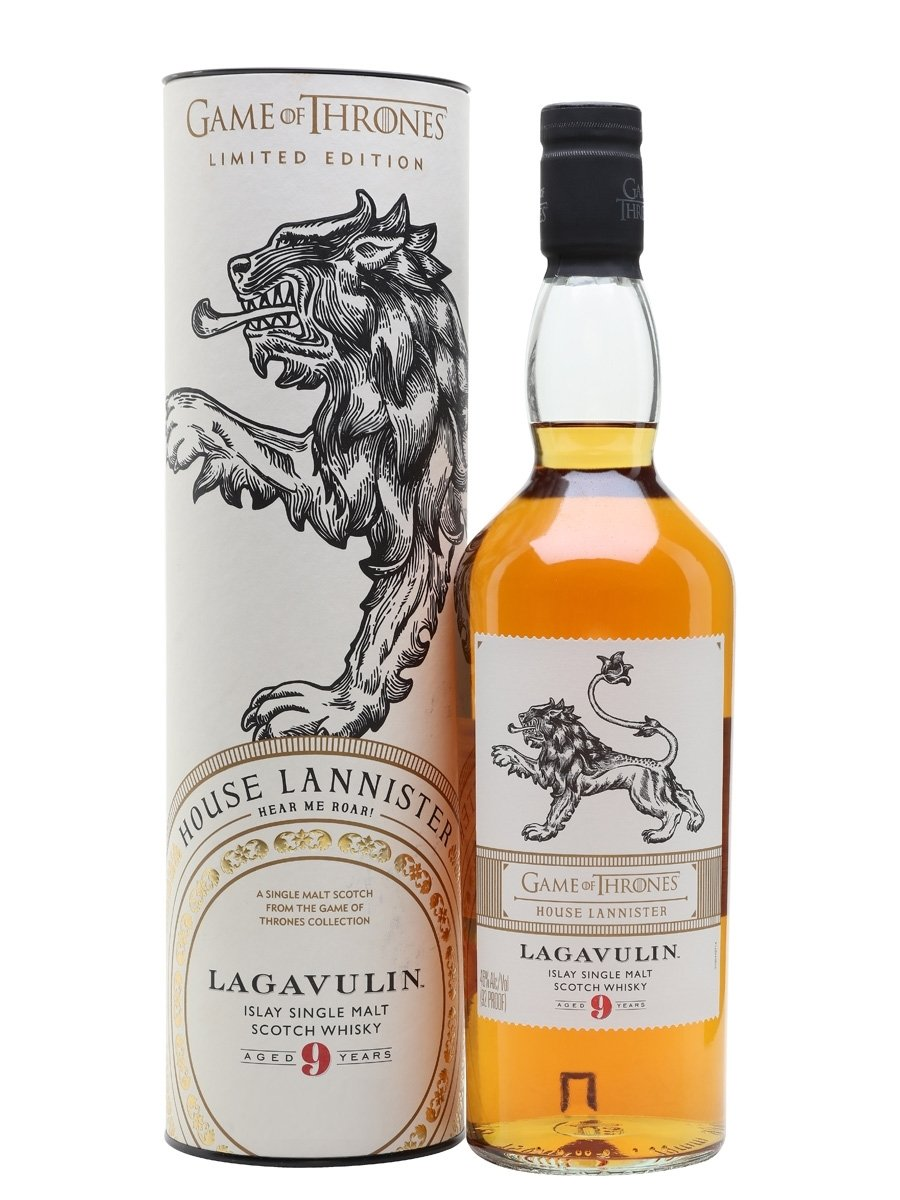 Lagavulin Game of Thrones House Lannister 9 Years Old