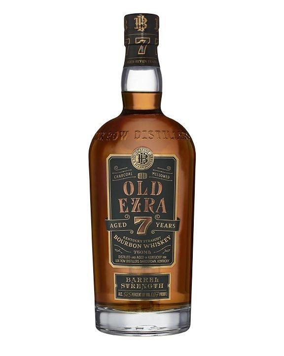 Old Ezra Barrel Strength Straight Bourbon 7 Years Old