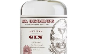 Bottle of St George Spirits Dry Rye Gin