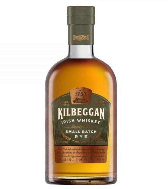 Kilbeggan Small Batch Rye Irish Whiskey