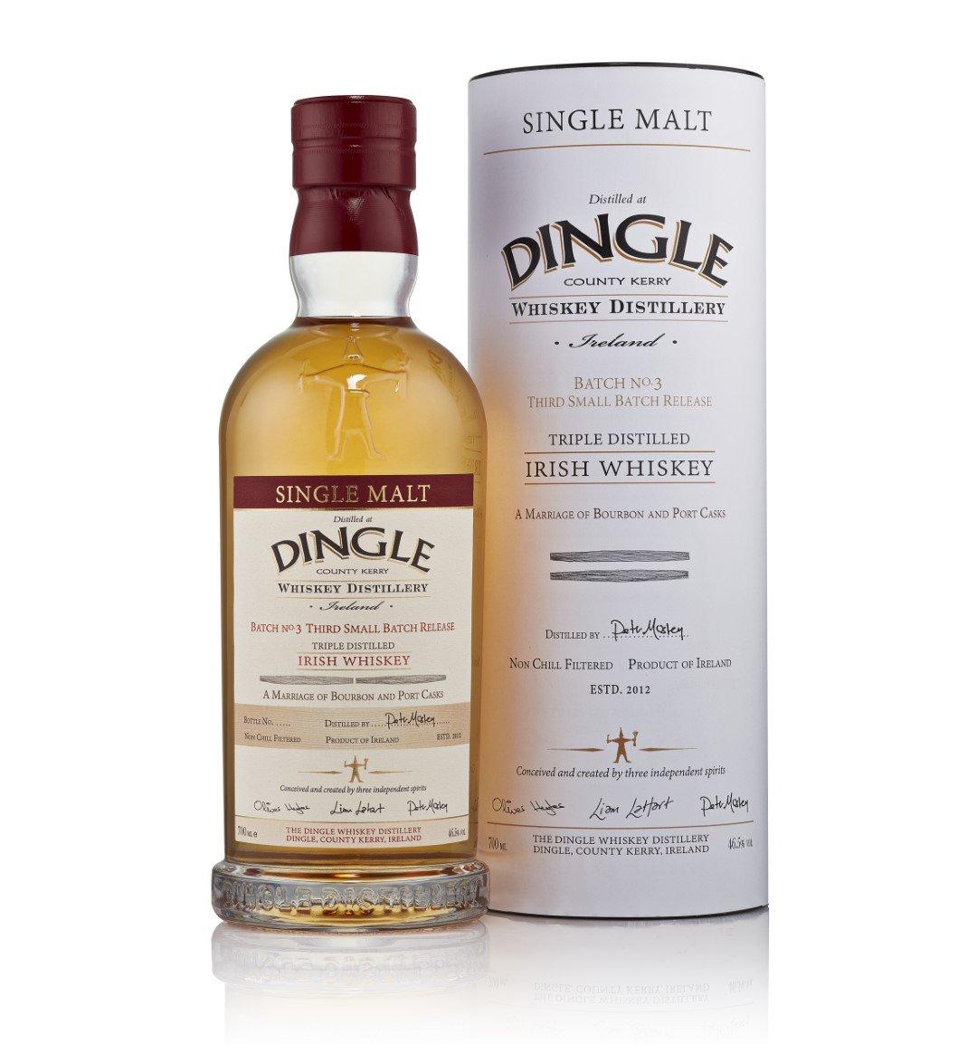 Dingle Single Malt Whiskey Batch No. 3