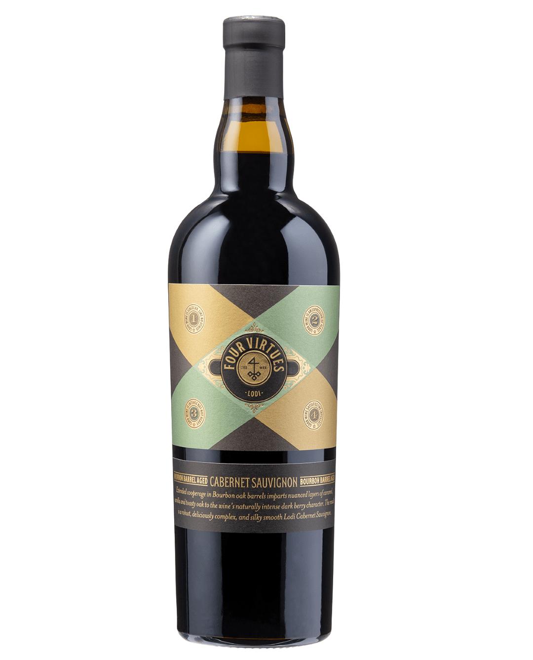 2016 Four Virtues Cabernet Sauvignon Lodi Bourbon Barrel Aged