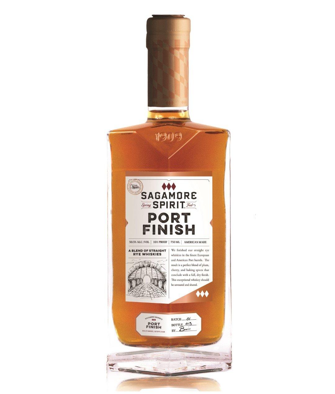 Sagamore Spirit Blended Rye Port Finish