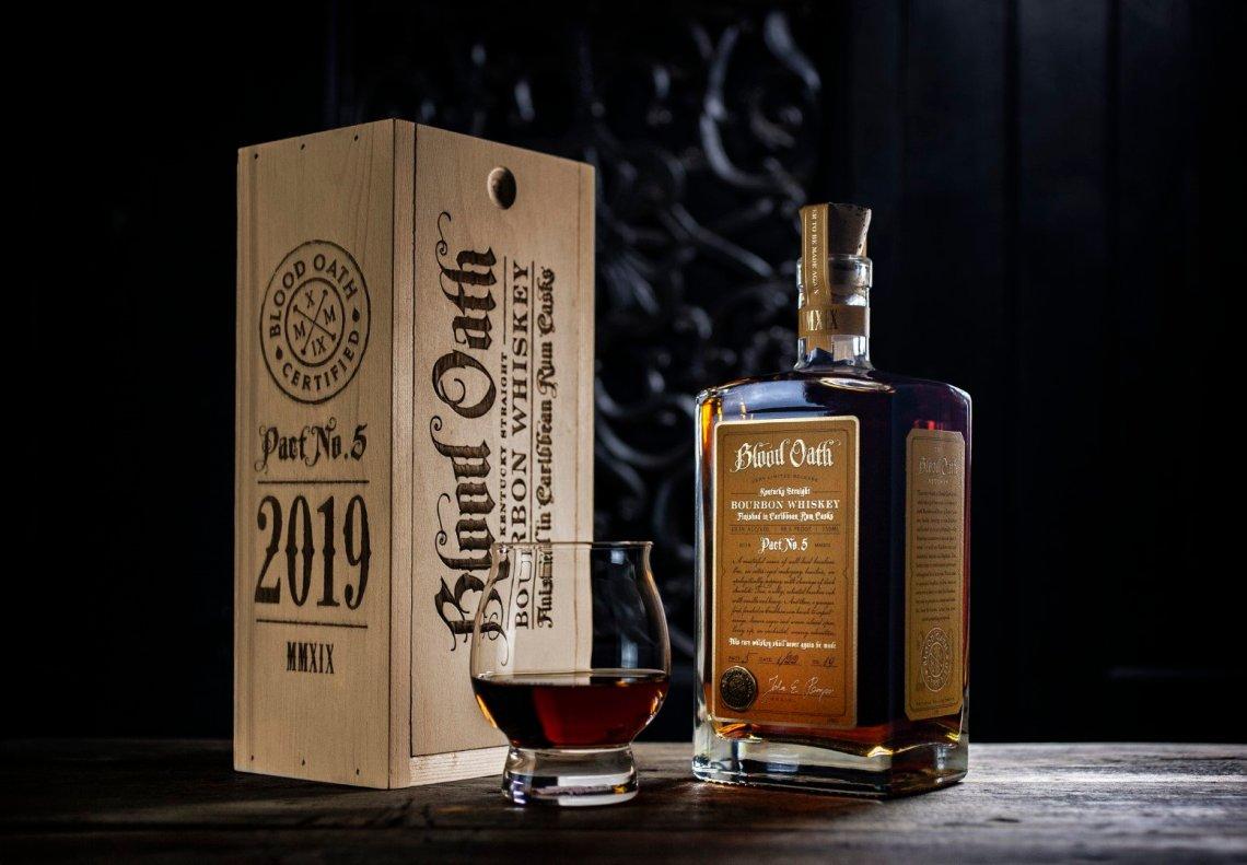 Blood Oath Bourbon Whiskey Pact No. 5 2019