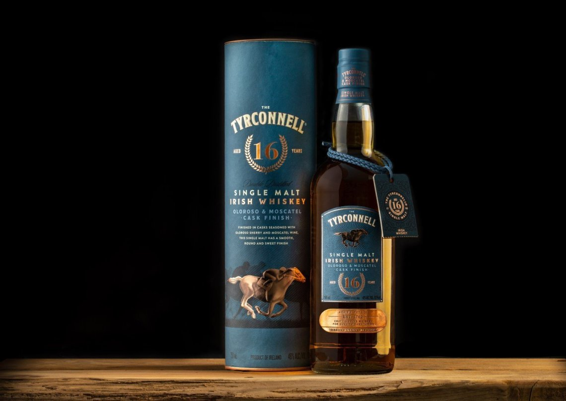 The Tyrconnell Single Malt Irish Whiskey Oloroso & Moscatel Cask Finish 16 Years Old