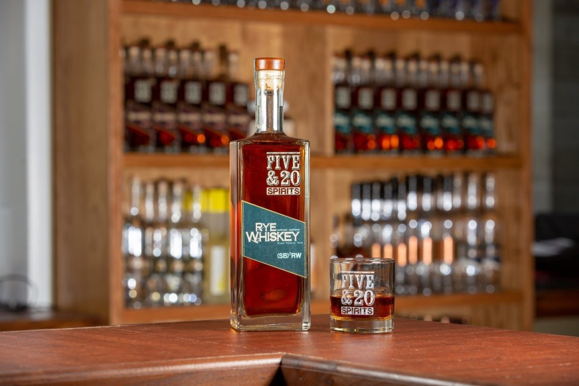 Five & 20 Spirits Rye Whiskey