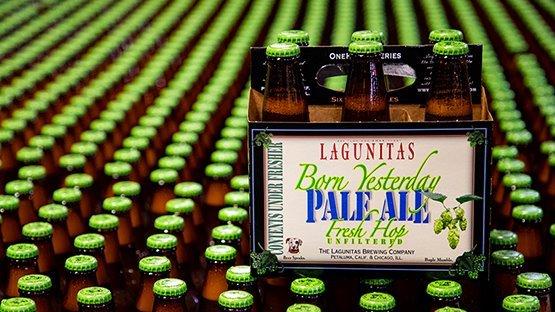 Lagunitas Born Yesterday Pale Ale 2019