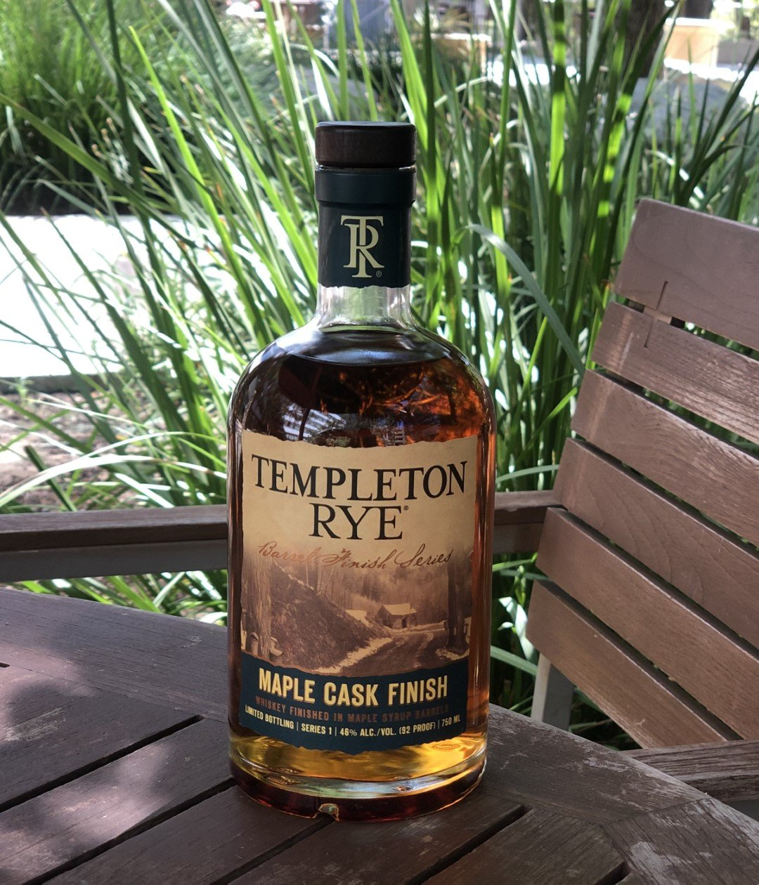 Templeton Rye Maple Cask Finish