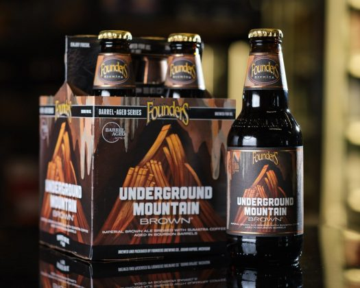 Founder's Brewing Underground Mountain Brown Bourbon Barrel Aged Brown Ale