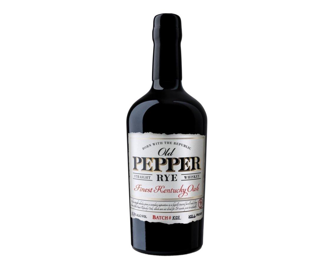 """James E. Pepper Old Pepper Rye """"F.K.O."""" K02"""