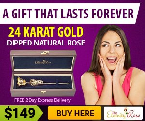 Eternity Rose Valentine's day gifts