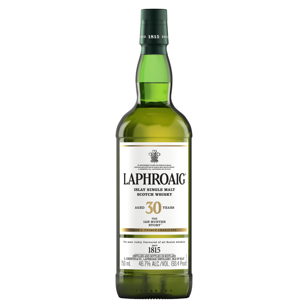 Laphroaig 30 Years Old - The Ian Hunter Story, Book One: Unique Character (2019)