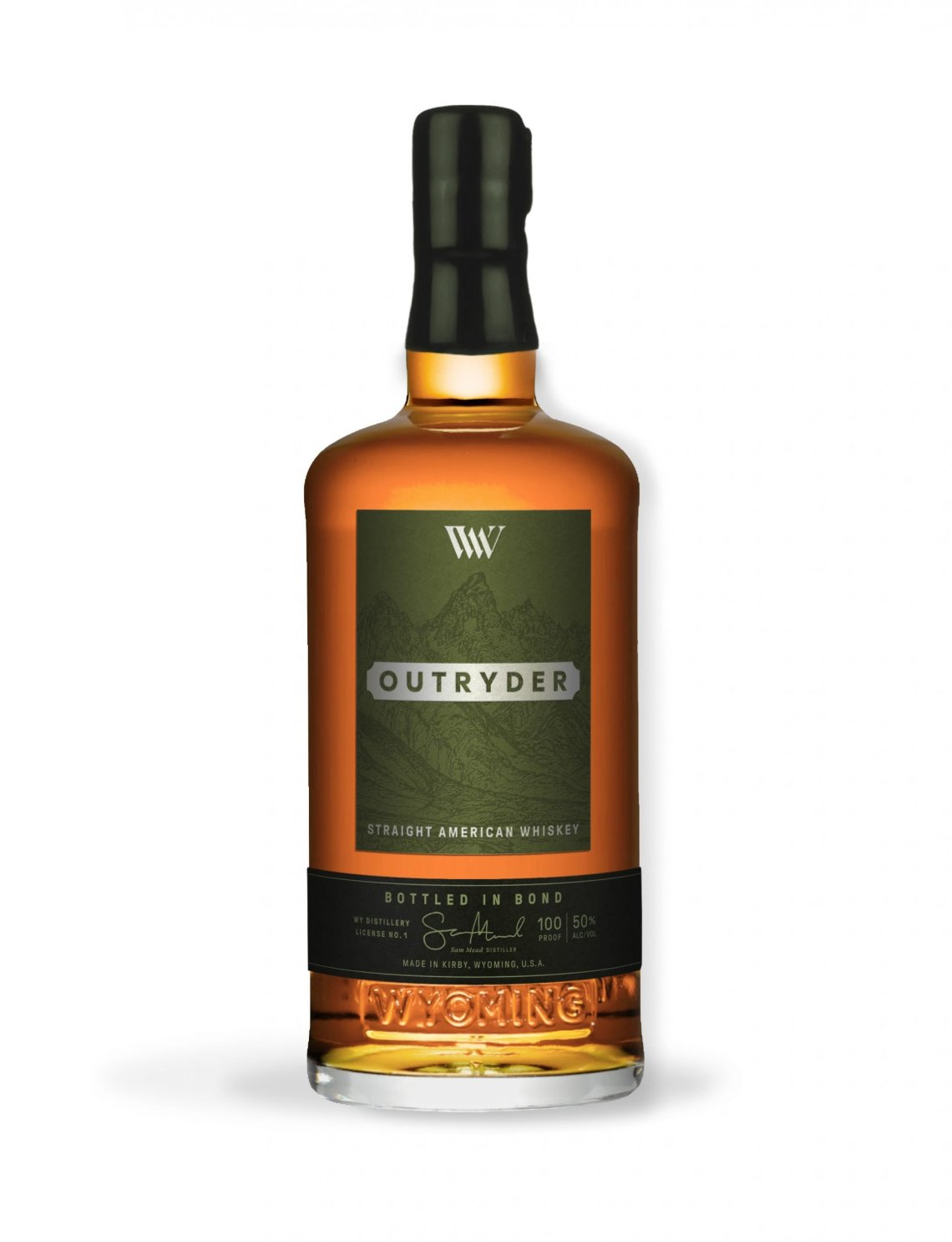 Wyoming Whiskey Outryder American Whiskey 2020