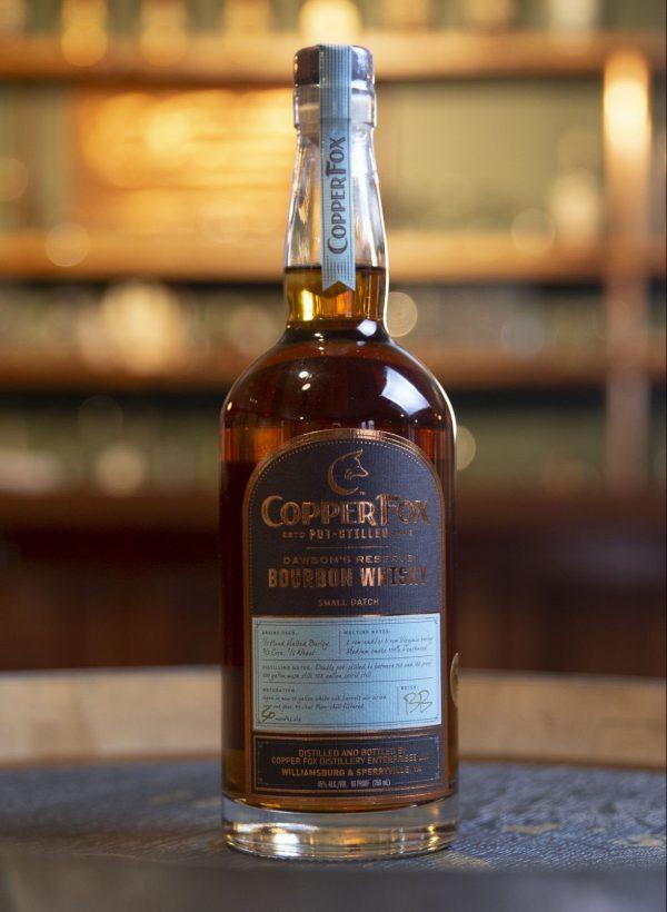 Copper Fox Dawson's Reserve Bourbon