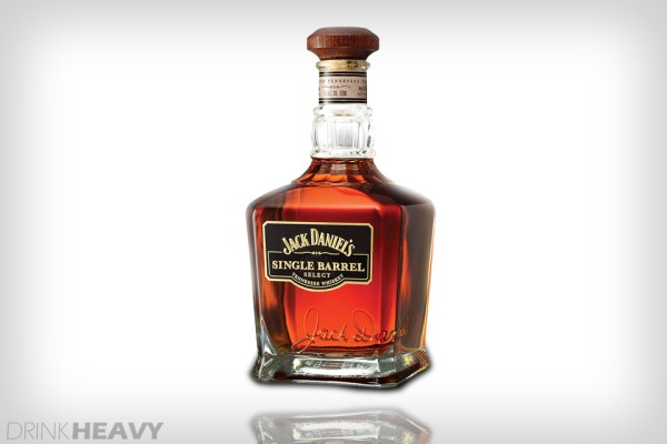 JACK DANIEL'S BARREL PROOF SELECT WHISKEY