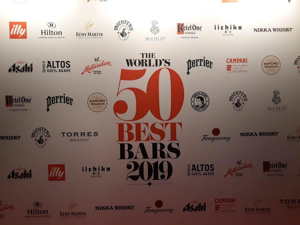 TOP 50 баров мира