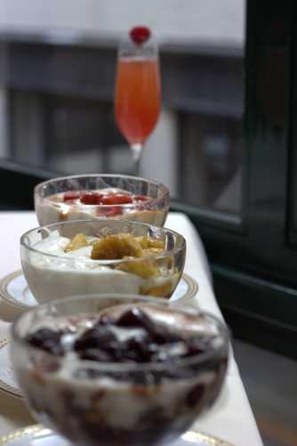 Flambeed Desserts