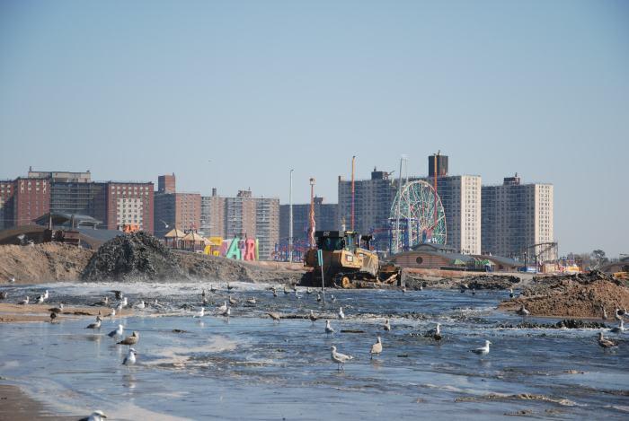 Coney Island Post-Sandy Beach Restoration (repair and restore of