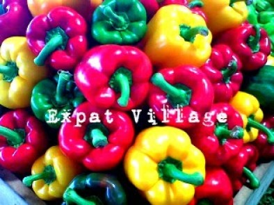 Peppers at MercaSantoDomingo