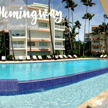 beach front apartment at Club Hemingway