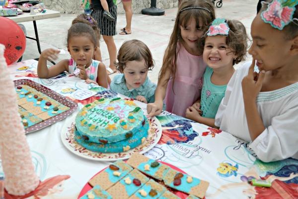 Around the Birthday Cake