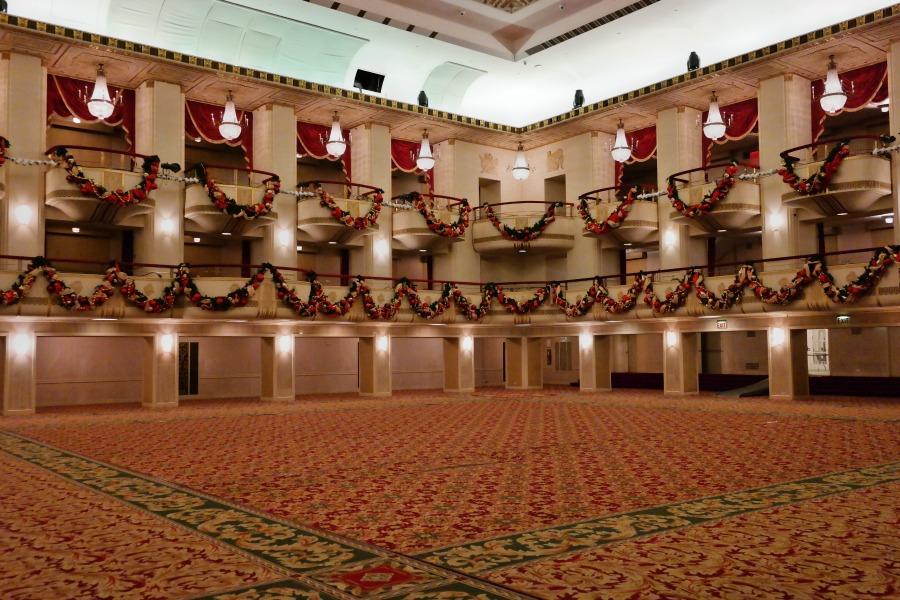 Grand Ballroom in the Waldorf Astoria