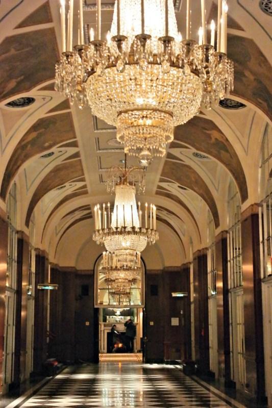 Waldorf Astoria's Grand Hallways