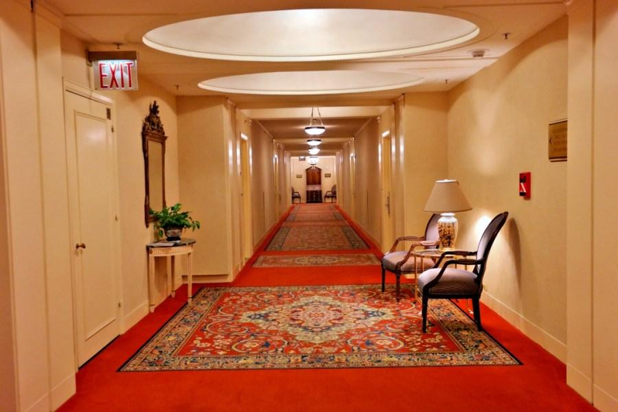 Hallway of the Waldorf Astoria