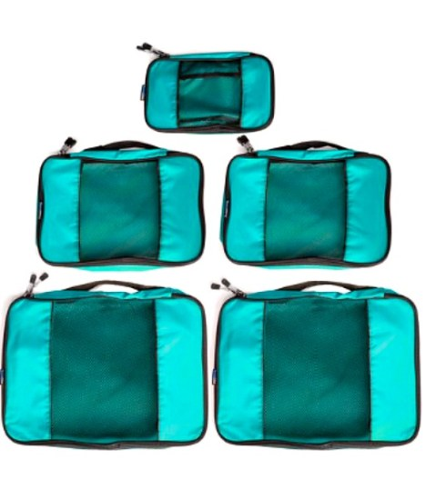 Time Saving Airport Travel Tip Packing Cubes for passports