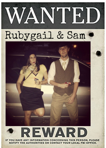 Wanted Sign Gatsby Party
