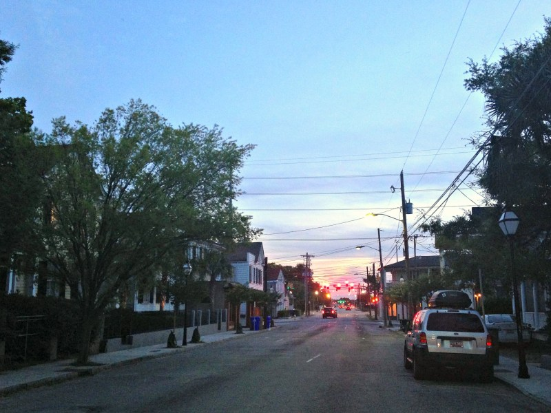 Spring Street Charleston Evening