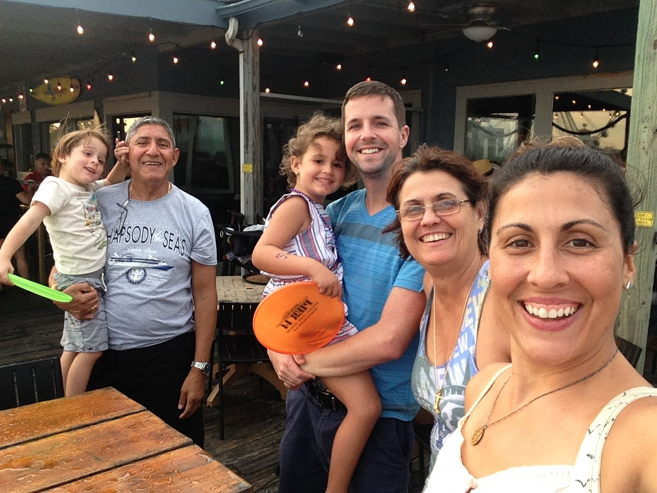 multi-generation family vacation