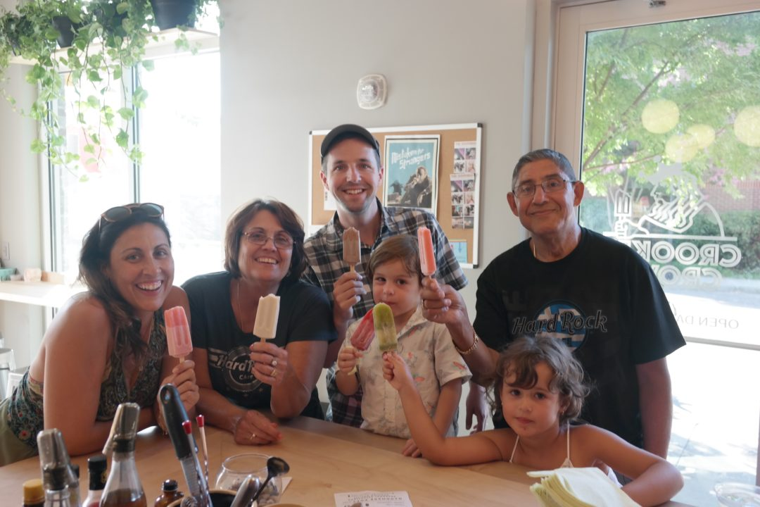 popsicles at Crooked Crown