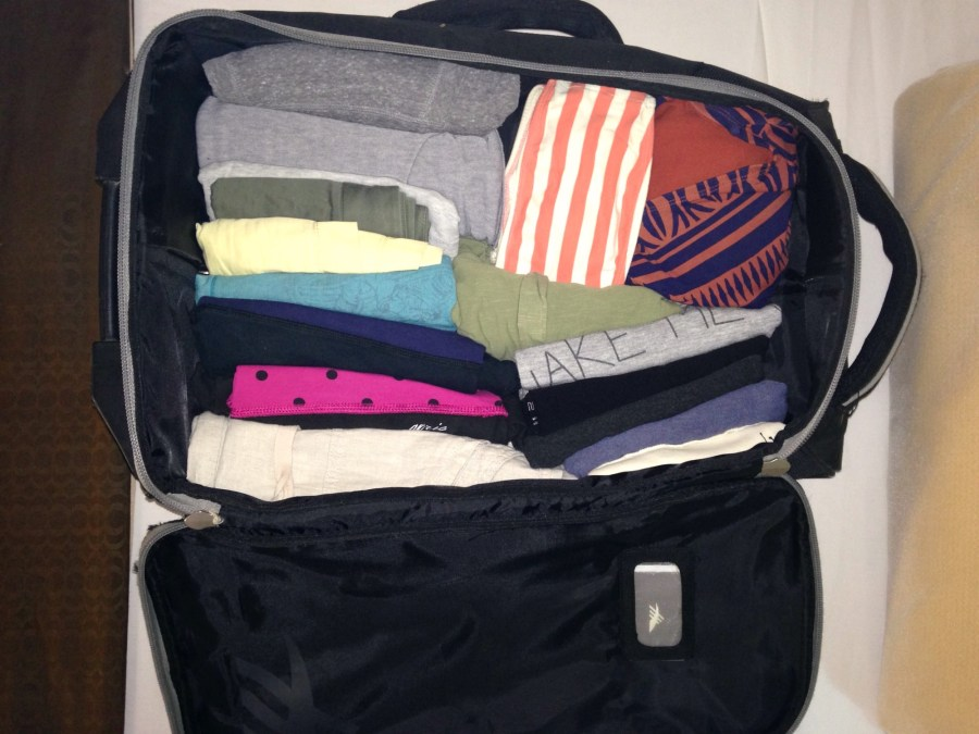best ways to pack a suitcase